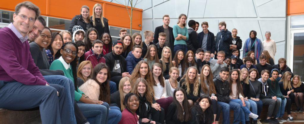 Besøg fra Bay Shore High School