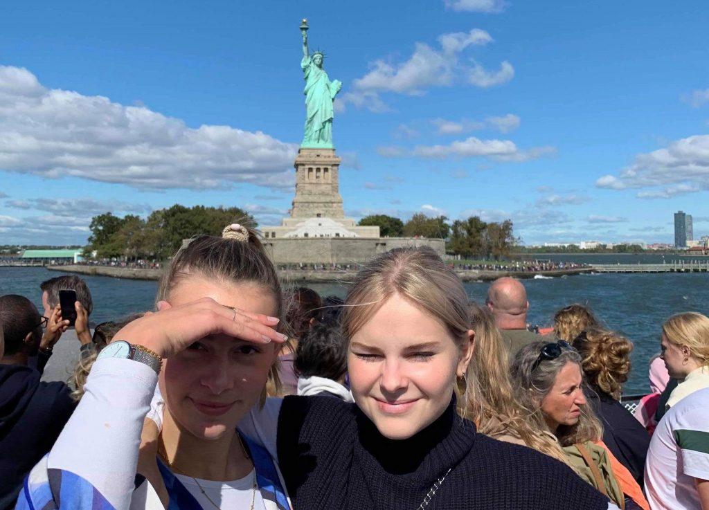 På tur til Frihedsgudinden i New York
