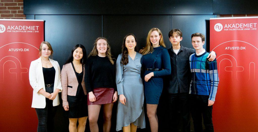 Akademiet for talentfulde unge - dimissionsbillede