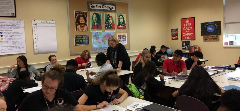 Lær engelsk hvor det tales - i klasselokalet i USA